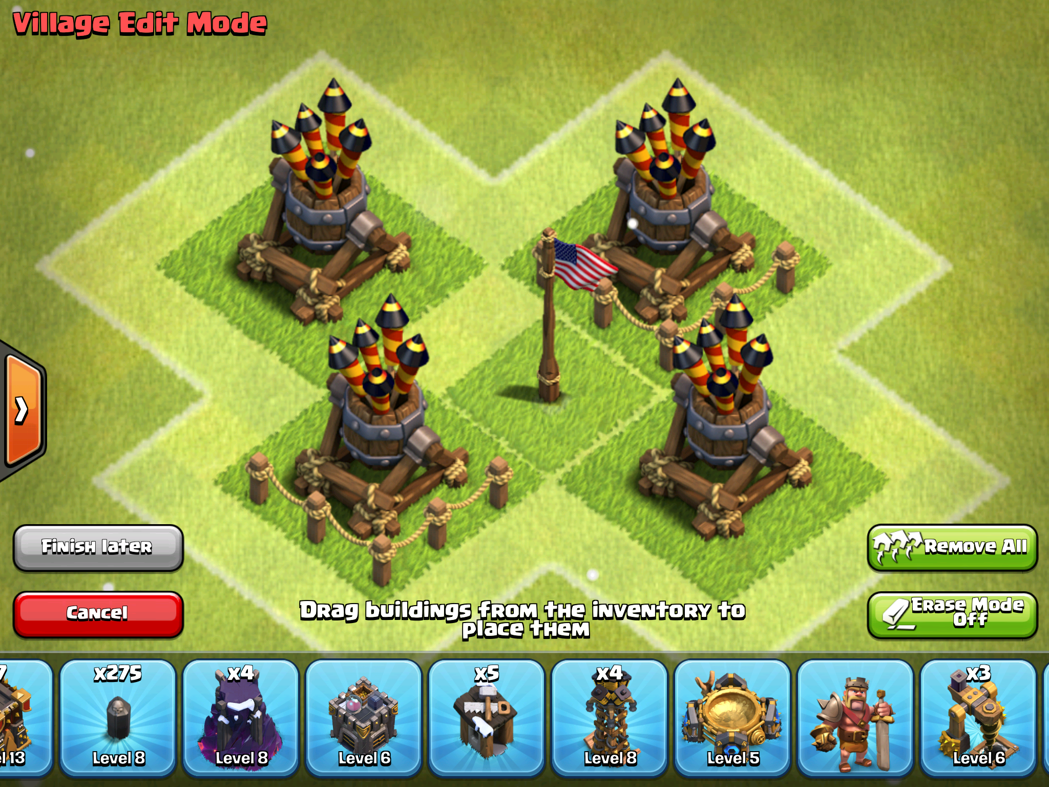 Clash of Clans Air Defense - Stats and Strategies