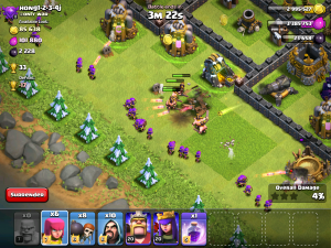 Clash of Clans Barching Attack Strategy