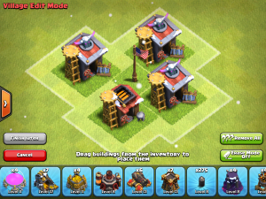 Clash of Clans Barracks