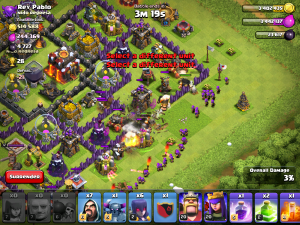 Clash of Clans Giant Attack Strategy