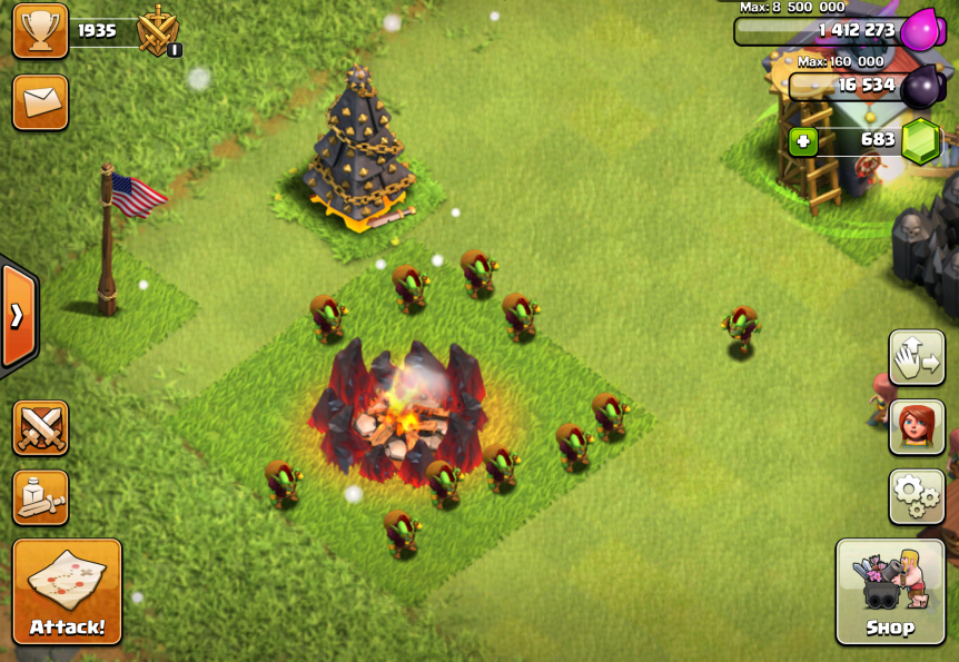 Clash of Clans Goblin