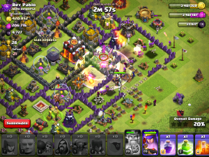 Clash of Clans Golem Attack Strategy