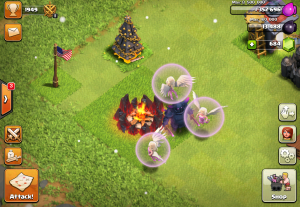 Clash of Clans Healer