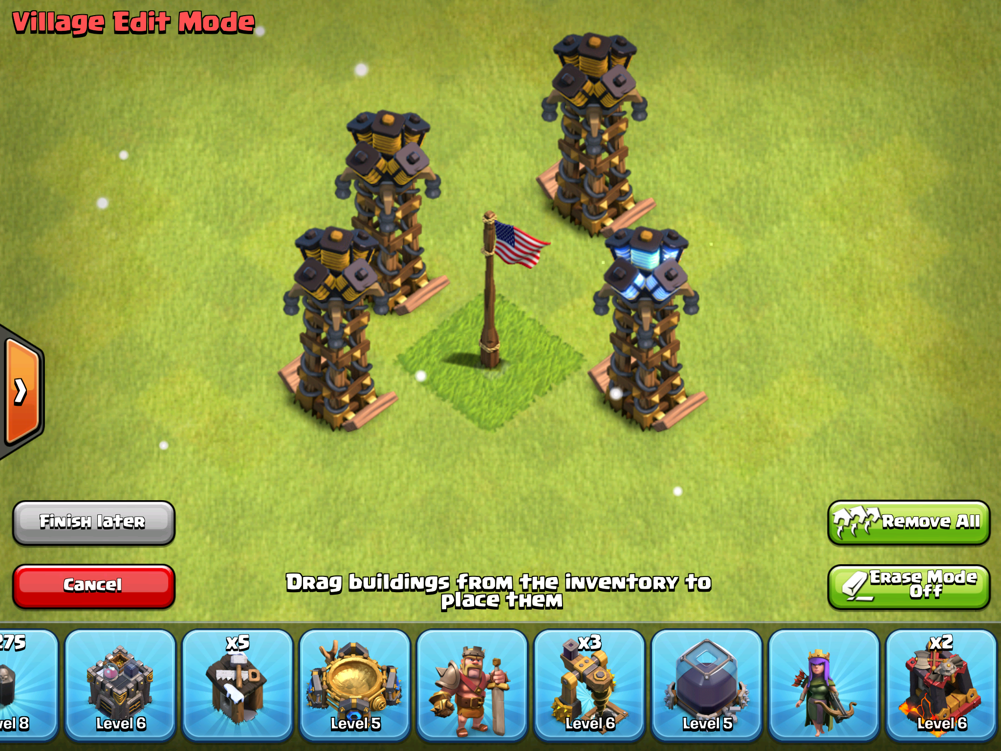 X Bow Clash Of Clans Clash of Clans Hidden ...