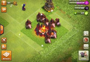 Clash of Clans Hog
