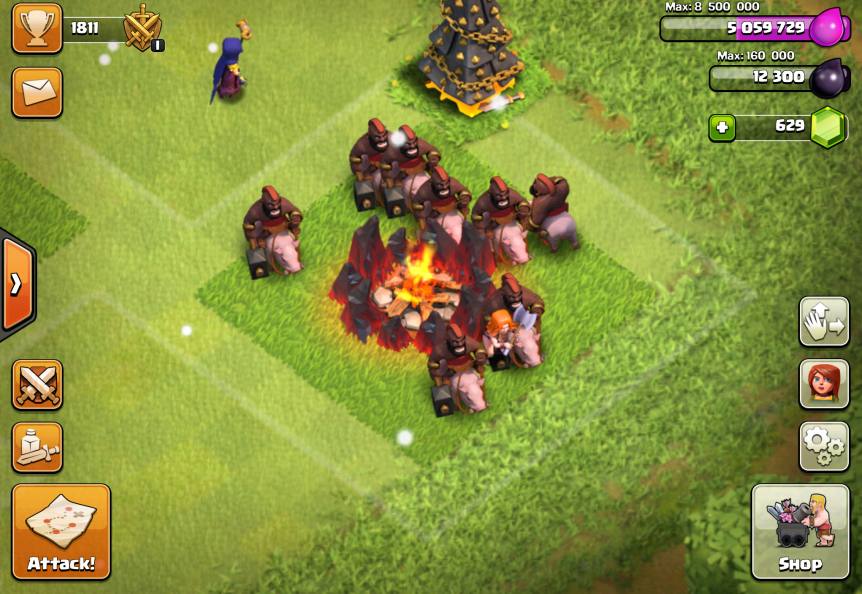 Clash of Clans Hog