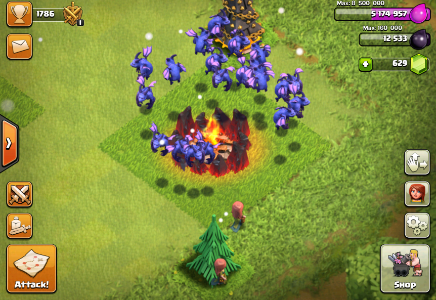 Clash of Clans Minion