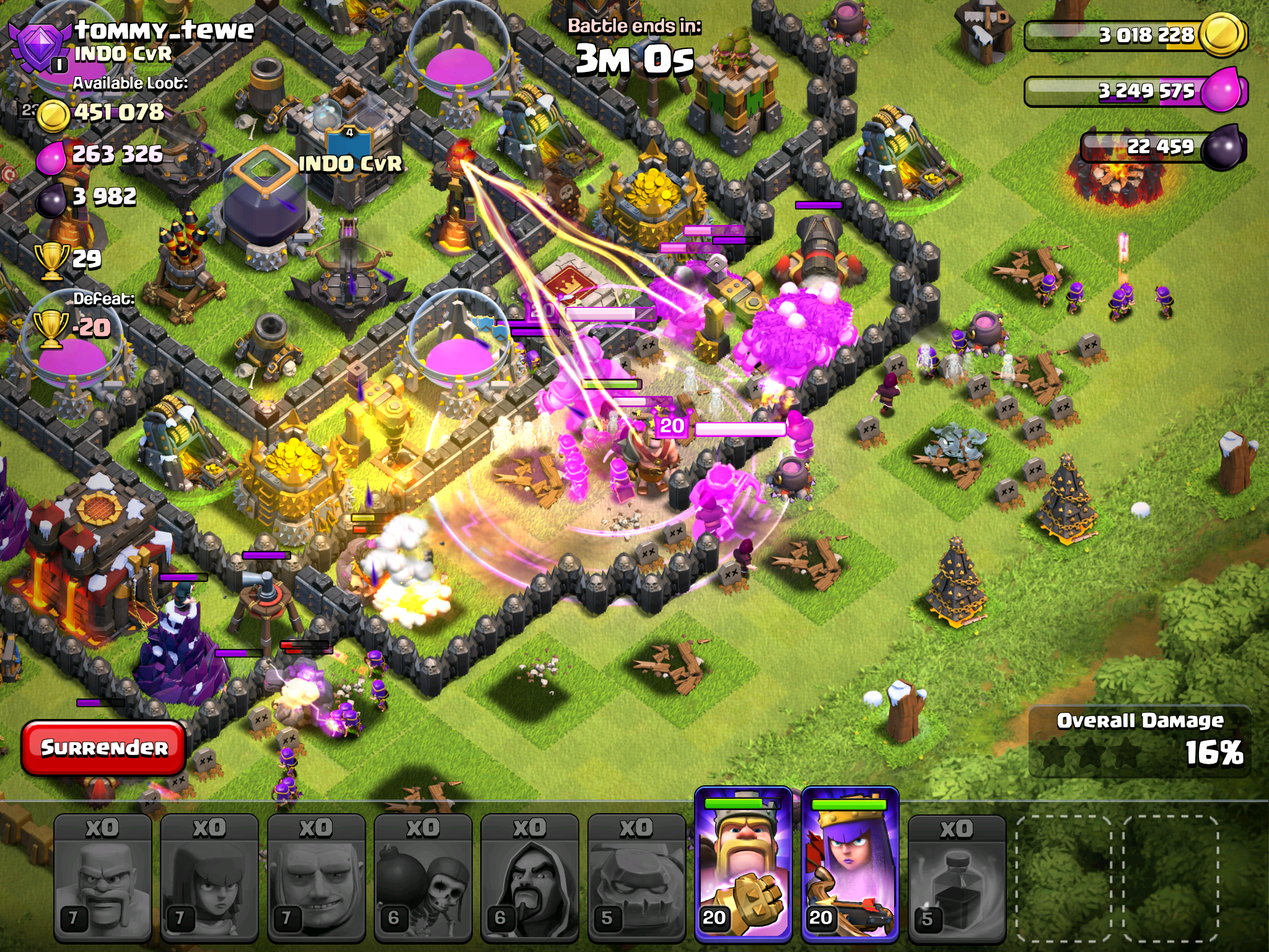 clash of clans spell factory - photo #35