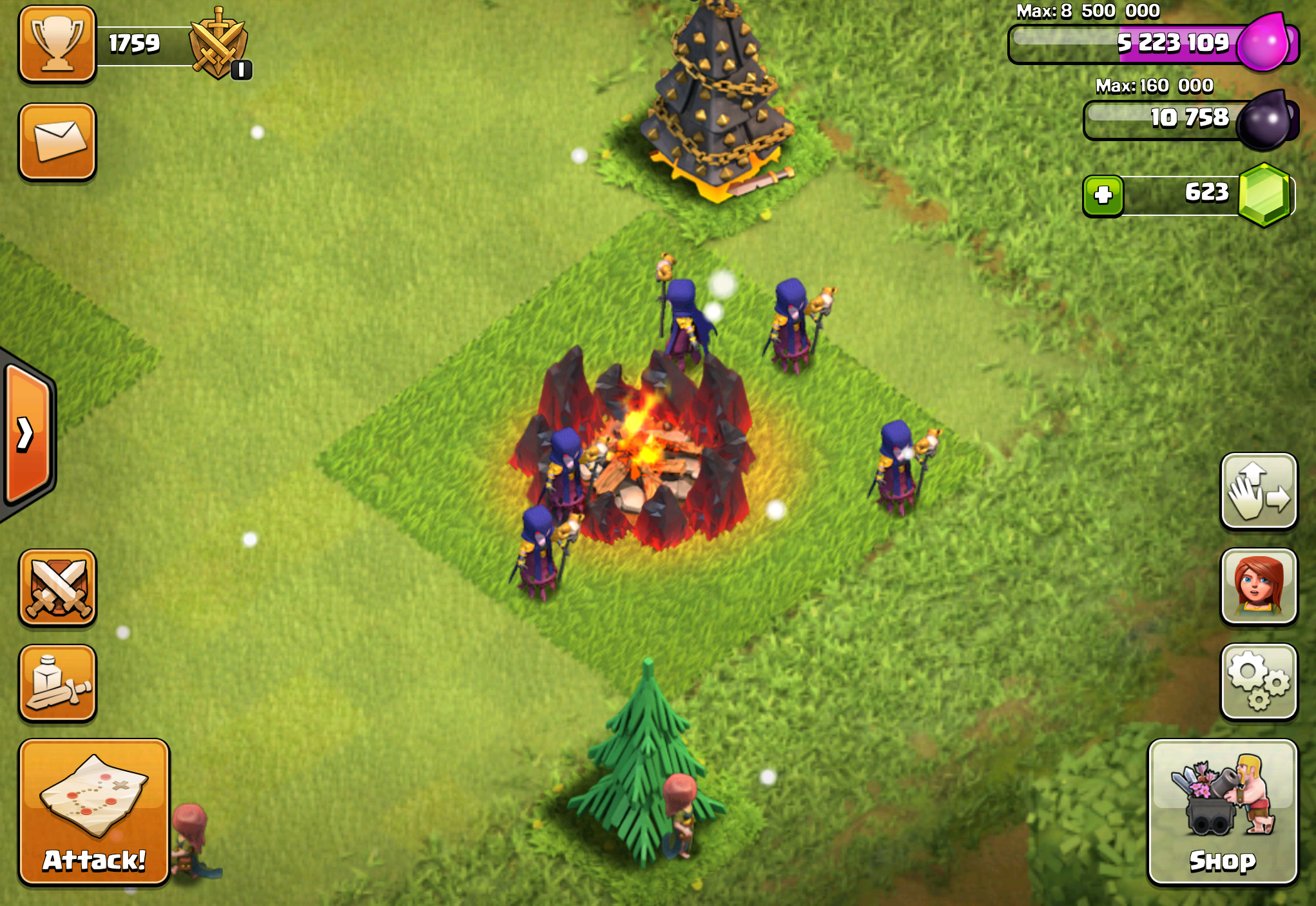Clash of Clans Witch - Attacks, Raids & Strategies