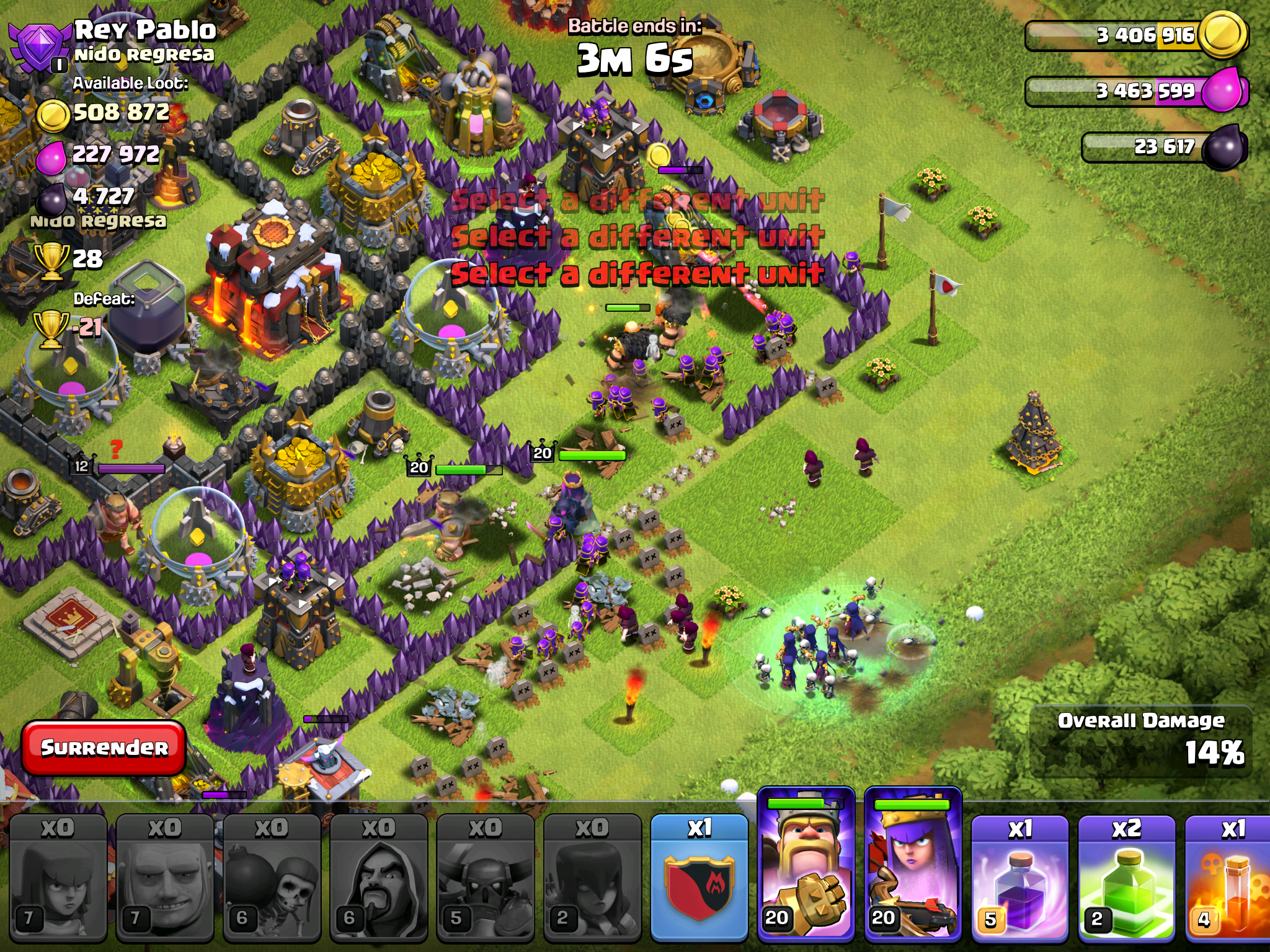 battle tactics clash of clans
