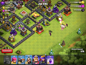 Clash of Clans Wizard Attack