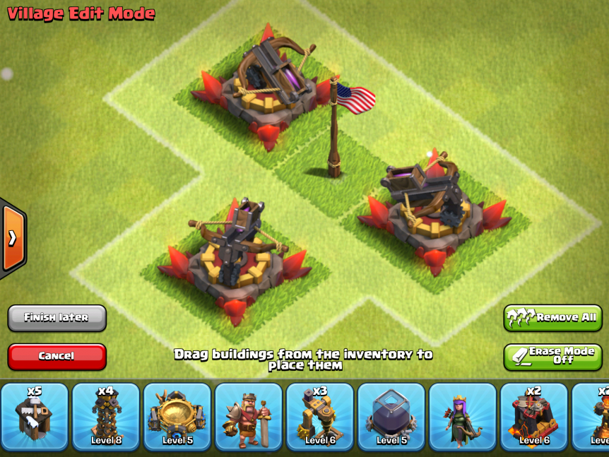 Clash of Clans X Bow