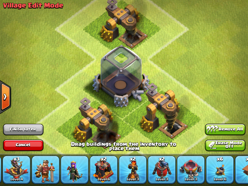Clash of Clans Dark Elixir Storage & Dark Elixir Drills