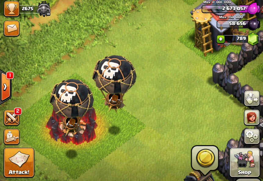 X Bow Clash Of Clans Clash of Clans Balloon...
